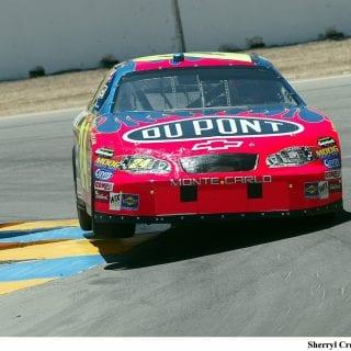 Jeff Gordon On Track Infineon