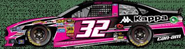 jeffrey earnhardt pink car charlotte motor speedway