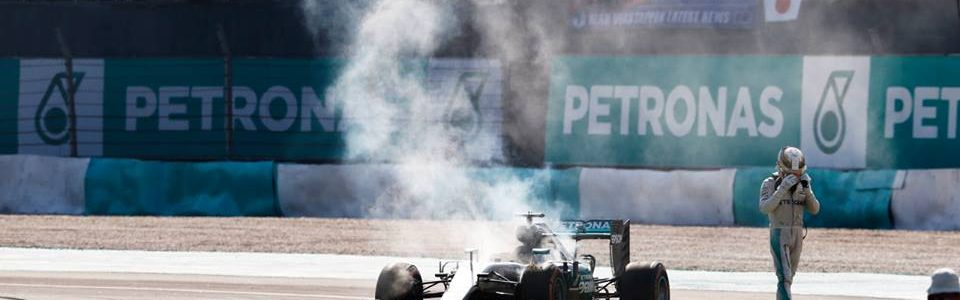 Lewis Hamilton Claims Sabotage after Blown Engine