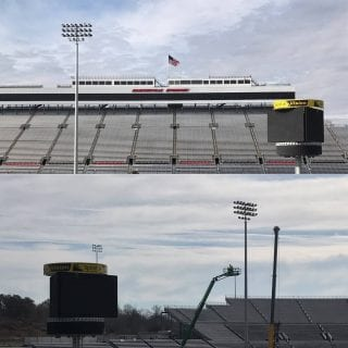Martinsville Speedway LED Lights Photo