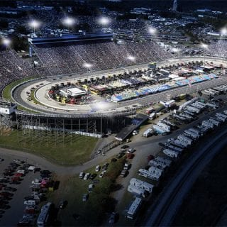 Martinsville Speedway Lights - Martinsville Night Racing