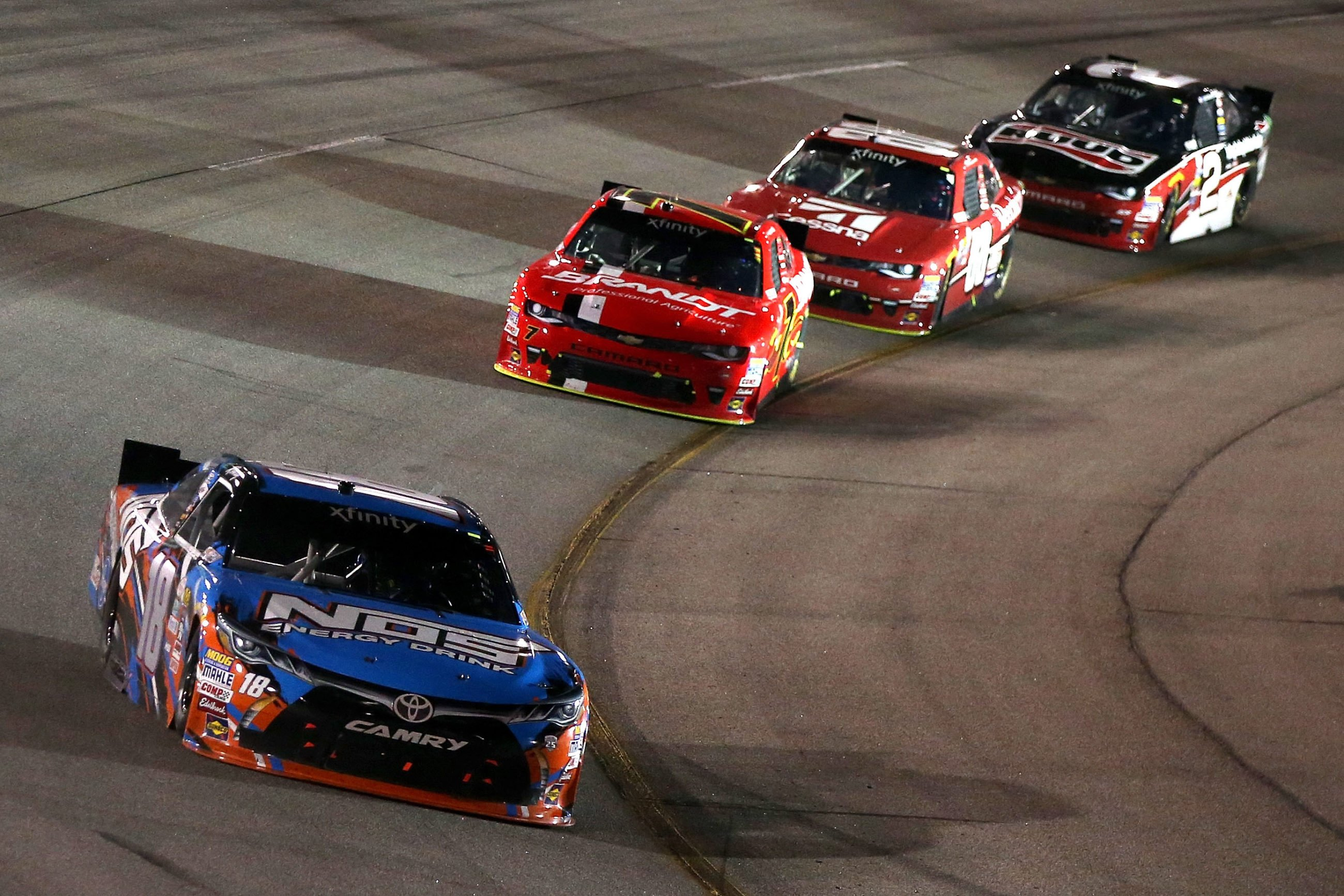 NASCAR Places Limits Cup Drivers in Xfinity Series and Truck Series