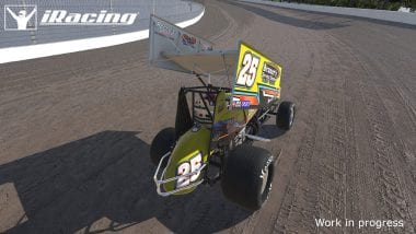 iRacing Dirt Sprint Car Screenshot Released