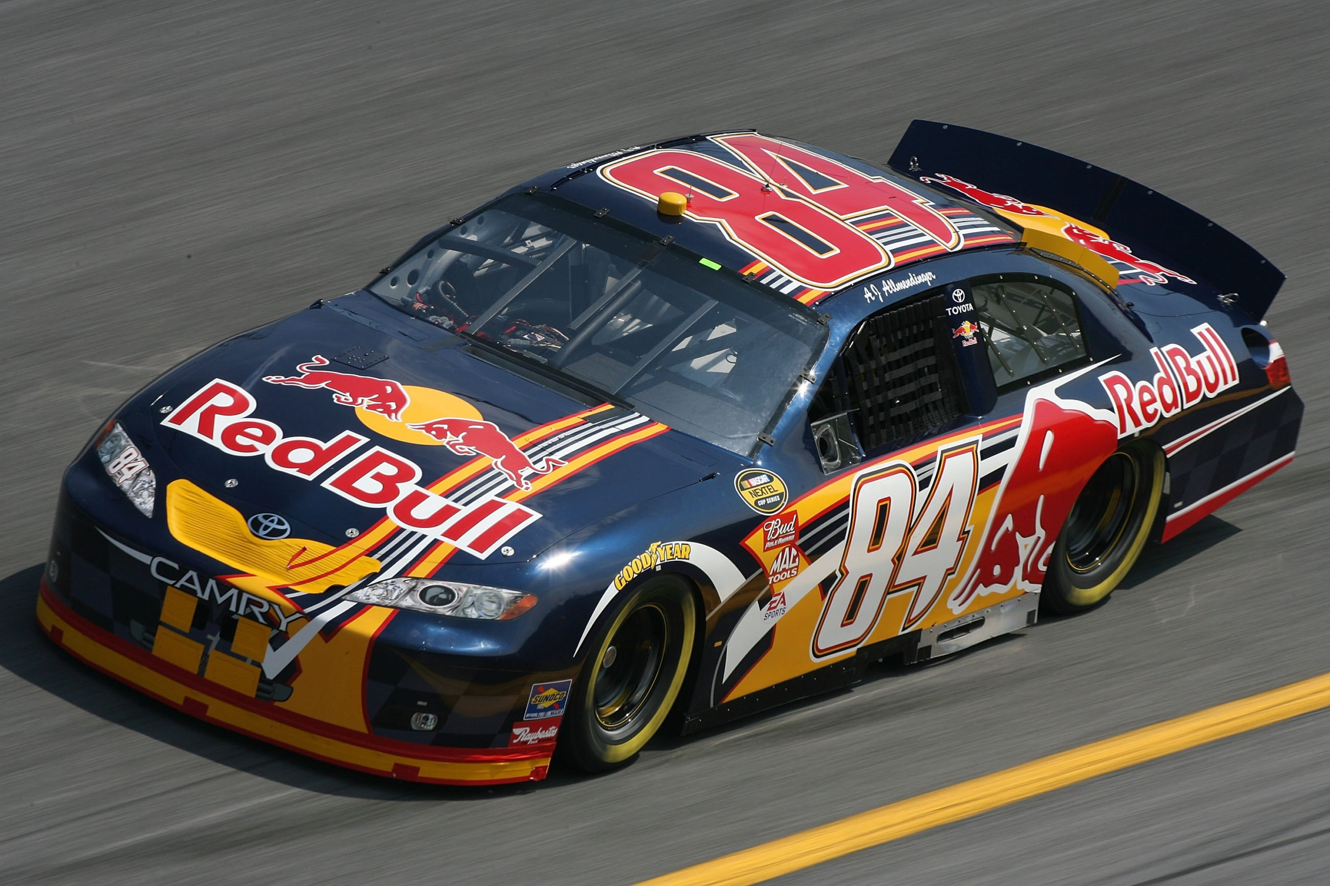 It Wasnt Until 2007 That They Entered Machines In Both The NASCAR Sprint Cup Series And Xfinity Michael Waltrip Racing Red Bull