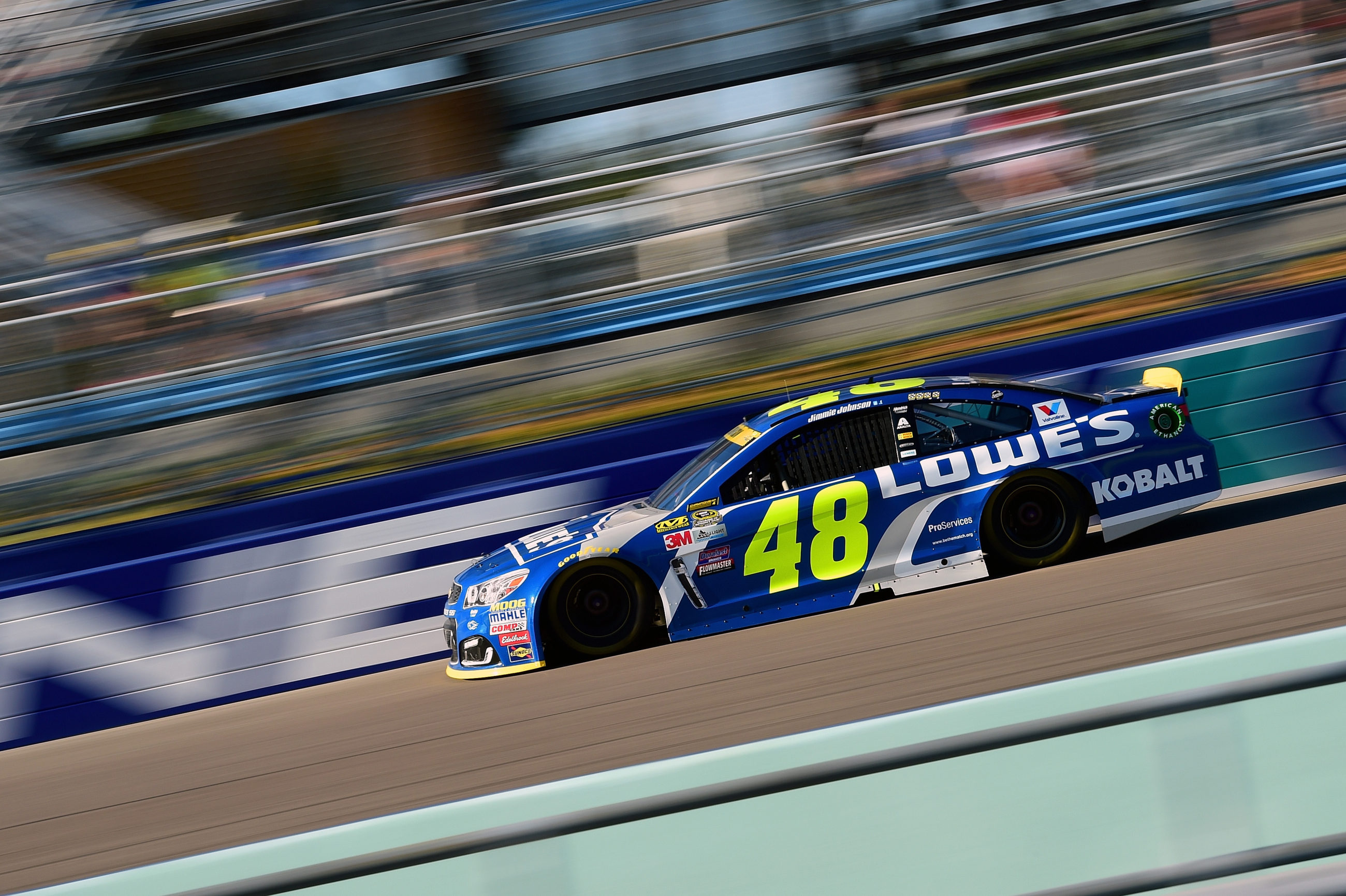 2016 NASCAR Cup Series Standings Led by Jimmie Johnson