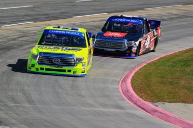 2016 NASCAR Truck Series Standings Without The Chase