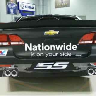 2017 Dale Jr Paint Scheme Rear - Nationwide 88 Car