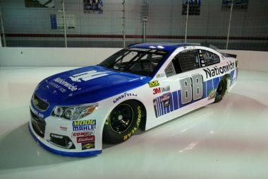 2017 Dale Jr Paint Scheme Released - Nationwide 88 Car Photos