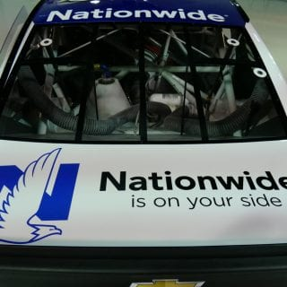 2017 Dale Jr Paint Scheme Released - Nationwide 88 Car Rear Desk Lid