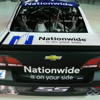 2017 Dale Jr Paint Scheme Released - Nationwide 88 Car Spoiler