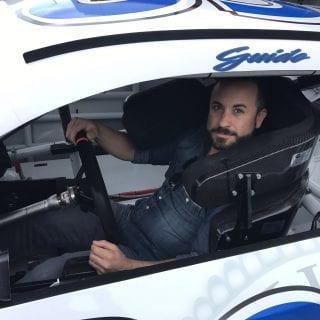 Back the Blue Racecar