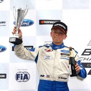 Billy Monger Racing Podium