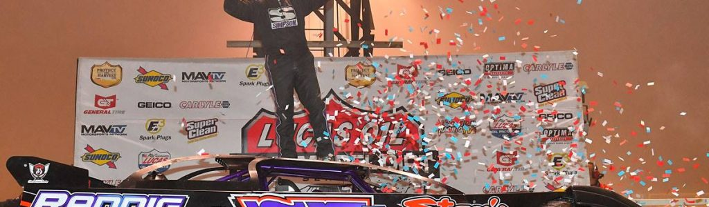 Colton Flinner 2016 Lucas Oil Late Model Rookie of the Year