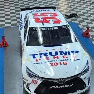 Donald Trump NASCAR Sprint Cup Series Car