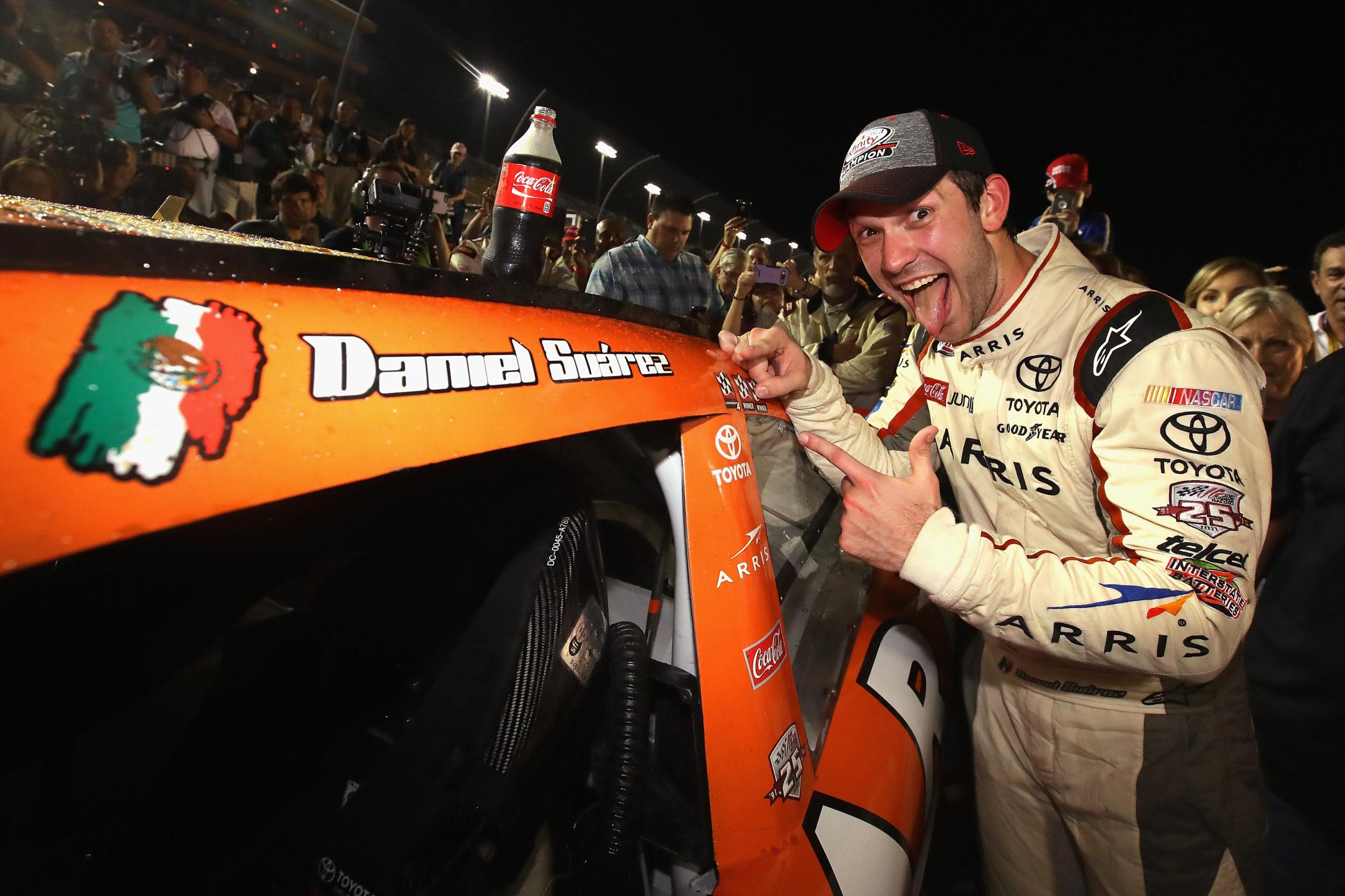 Final 2016 NASCAR XFINITY Series Championship Points - 2016 NASCAR Xfinity Champion Daniel Suarez