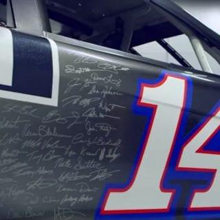 Final Tony Stewart Paint Scheme - Always a Racer