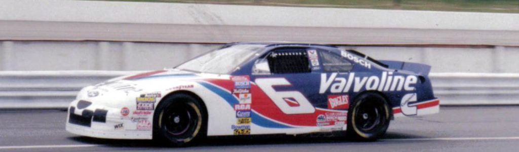 Matt Kenseth was suppose to drive the #6 as a replacement for Mark Martin