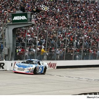 Mark Martin NMPA Hall of Fame Inductee 2004 Dover Win