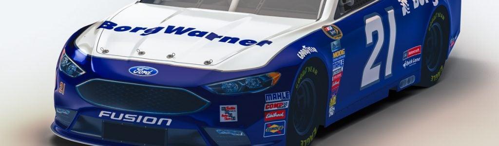 Wood Brothers will Debut NASCAR BorgWarner Car at Texas Motor Speedway