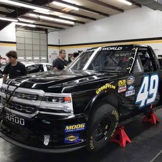 Reed Sorenson NASCAR Camping World Truck Series