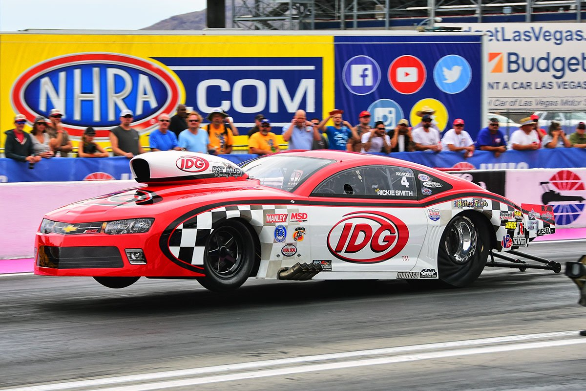 Rickie Smith Tops 2016 NHRA Pro Mod Title