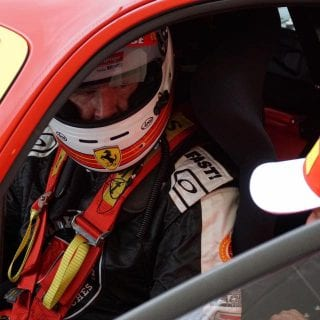 Rusty Wallace Ferrari Challenge Race at Daytona International Speedway