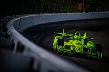 Simon Pagenaud Iowa Speedway Bullring