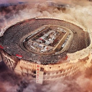 2016 Biggest Year for Bristol Motor Speedway Yet - Presented with 2016 Track of the Year Award from SMI