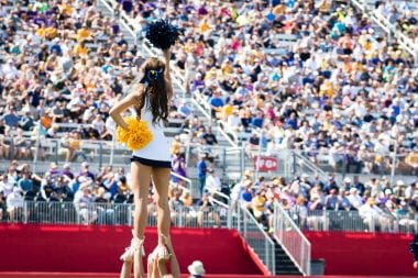 Battle at Bristol Cheerleader