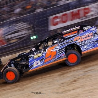 2016 Gateway Dirt Nationals Results - Saturday - Dirt Modifieds - Tommie Seets Jr 9458