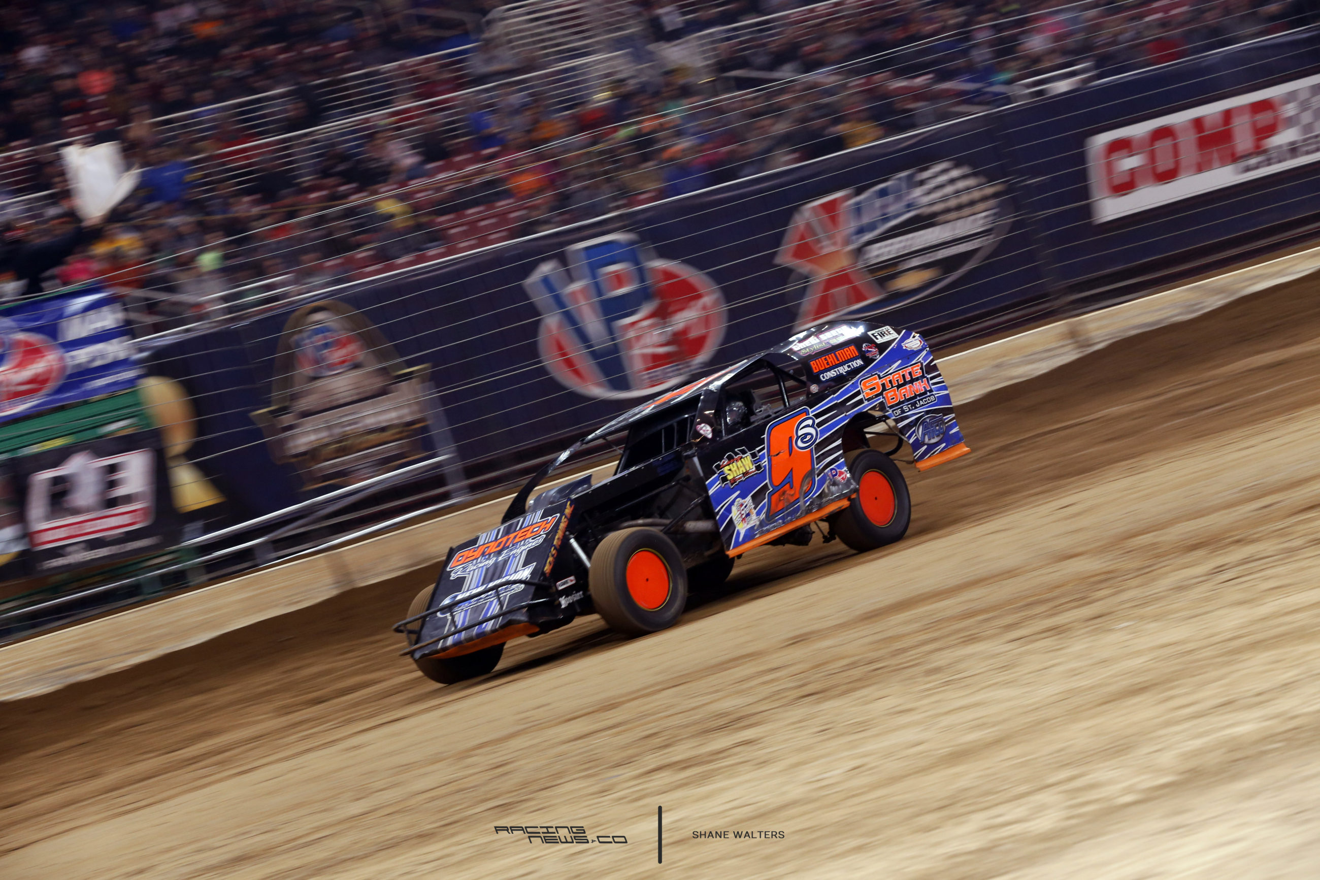 2016 Gateway Dirt Nationals Results - Saturday - Dirt Modifieds - Tommie Seets Jr 9578