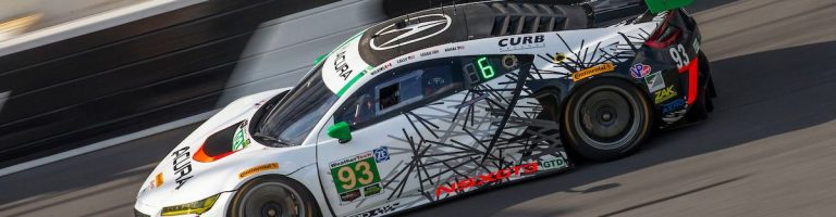 2017 Acura NSX GT3 Car Photos – Rolex 24 Driver Pairings Set Revealed