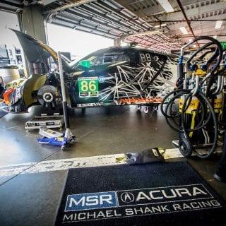 2017 IMSA WeatherTech Sportscar Championship Acura NSX GT3 Racecar Photos