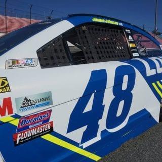2017 Jimmie Johnson NACSAR Racecar 48