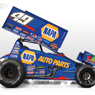 2017 Napa Dirt Sprint Car Photos - Brad Sweet - Kasey Kahne Racing