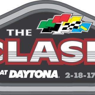 2017 The Clash At Daytona Logo