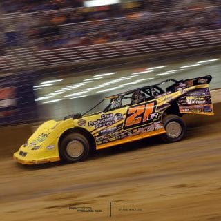 Billy Moyer Jr Dirt Late Model Racecar Photo 7499