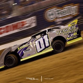 Dirt Late Model Racing Photo St Louis 6566