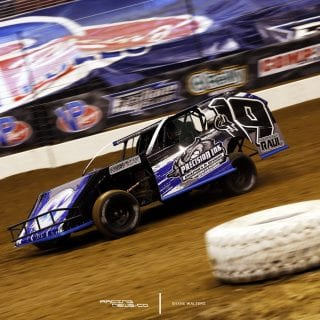 Dirt Modified Racing Photo 5865