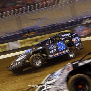 Dirt Modifieds at Gateway Dirt Nationals Race _MG_8043