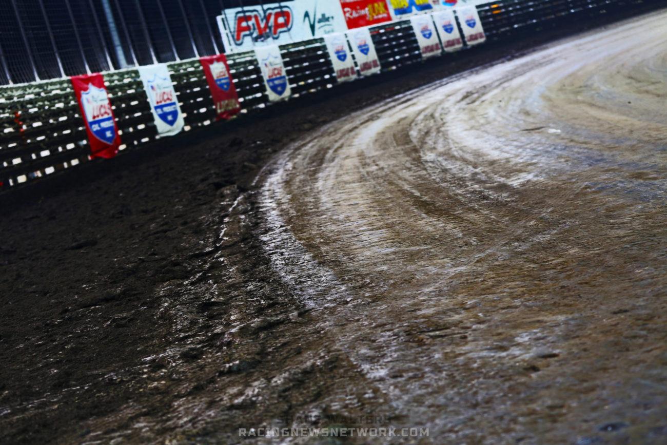 Dirt Track Prep Gary Risch -Knoxville Raceway Track Prep