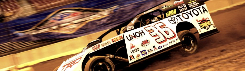 Kenny Wallace Toyota dirt modified sponsorship extended