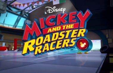 Disney Mickey and the Roadster Racers Logo - NASCAR Stars