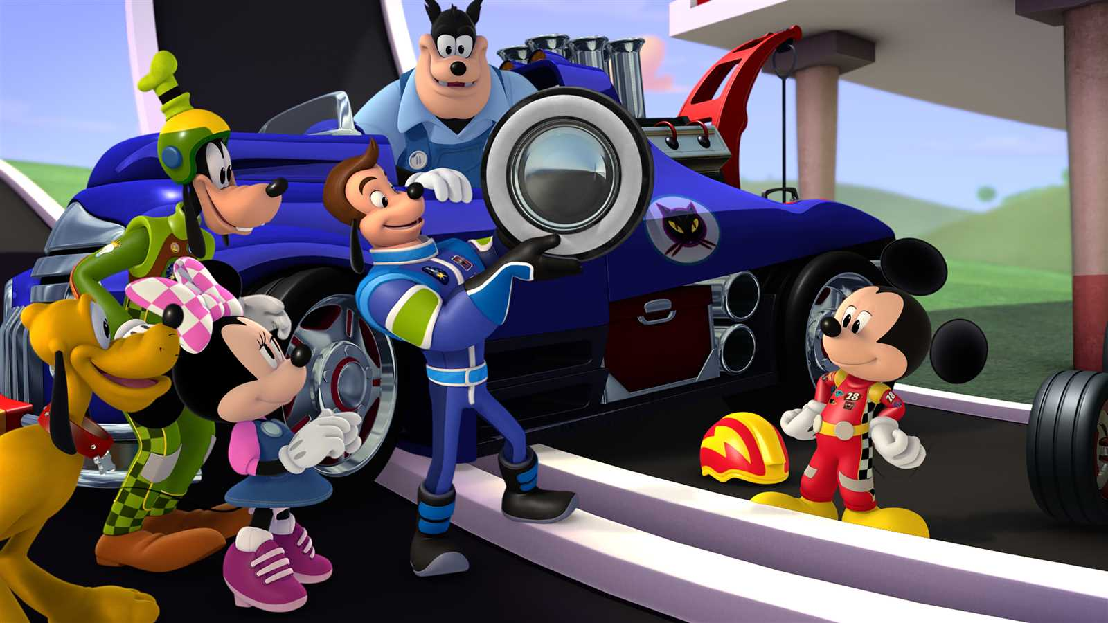 Disney NASCAR Show Coming Soon - Mickey and the Roadster Racers