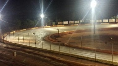 Driver Fails Tire Test at Senoia Raceway