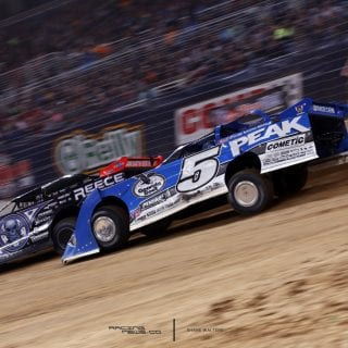 Edward Jones Dome Dirt Racing Photo 9157