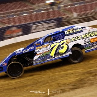 Flat Left Front Dirt Modified Racing Photo 6890