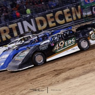 Gateway Dirt Nationals 4 Wide Salute 8970