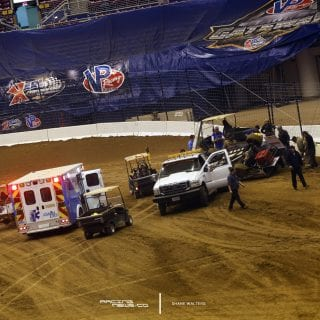 Gateway Dirt Nationals Crash 6202