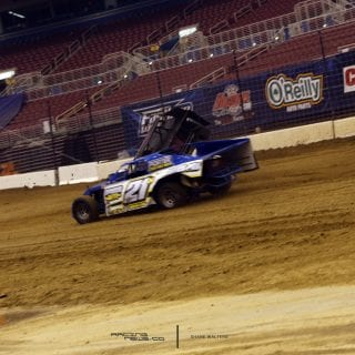 Gateway Dirt Nationals Crash Jeff Yates and Christopher Winters 6841